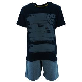 Παιδικό Σετ-Σύνολο Amaretto A1008 Μαύρο Αγόρι