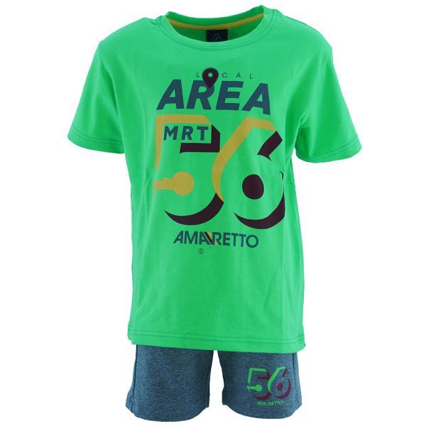 Παιδικό Σετ-Σύνολο Amaretto B1056 Πράσινο Αγόρι
