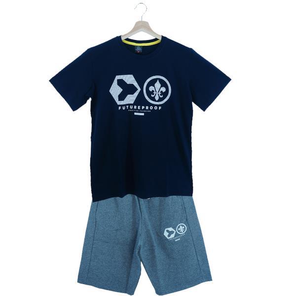 Παιδικό Σετ-Σύνολο Amaretto A1012 Μπλε Αγόρι