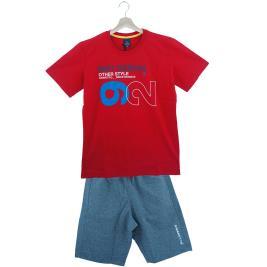 Παιδικό Σετ-Σύνολο Amaretto A1011 Κόκκινο Αγόρι