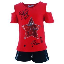 Παιδικό Σετ-Σύνολο Εβίτα 202110 Κόκκινο Κορίτσι