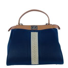 Γυναικεία Τσάντα Verde 16-0005523 Μπλε