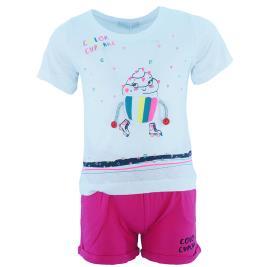 Παιδικό Σετ-Σύνολο Εβίτα 202253 Λευκό Κορίτσι