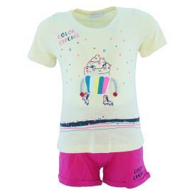 Παιδικό Σετ-Σύνολο Εβίτα 202253 Κίτρινο Κορίτσι