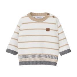 Βρεφική Μπλούζα Mayoral 10-02339-050 Μπεζ Αγόρι