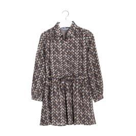 Παιδικό Φόρεμα Mayoral 10-07972-015 Γκρι Κορίτσι