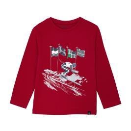 Παιδική Μπλούζα Mayoral 10-04037-022 Κόκκινο Αγόρι