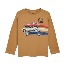 Παιδική Μπλούζα Mayoral 10-04038-079 Καφέ Αγόρι