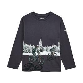 Παιδική Μπλούζα Mayoral 10-04049-062 Ανθρακί Αγόρι