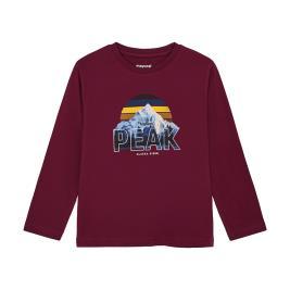 Παιδική Μπλούζα Mayoral 10-04055-066 Μπορντώ Αγόρι