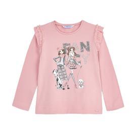 Παιδική Μπλούζα Mayoral 10-04062-079 Ροζ Κορίτσι