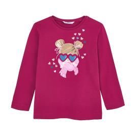 Παιδική Μπλούζα Mayoral 10-04070-048 Βυσσινί Κορίτσι