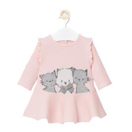 Βρεφικό Φόρεμα Mayoral 10-02871-032 Ροζ Κορίτσι