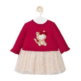 Βρεφικό Φόρεμα Mayoral 10-02877-093 Μπορντώ Κορίτσι
