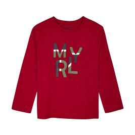 Παιδική Μπλούζα Mayoral 10-00173-049 Μπορντώ Αγόρι