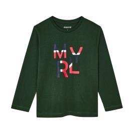 Παιδική Μπλούζα Mayoral 10-00173-053 Πράσινο Αγόρι