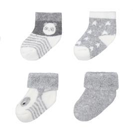 Βρεφικές Κάλτσες Σετ Mayoral 10-09302-078 Μελανζέ Αγόρι