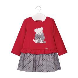 Βρεφικό Φόρεμα Mayoral 10-02955-031 Κόκκινο Κορίτσι