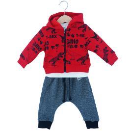 Βρεφική Φόρμα-Σετ Hashtag 203612 Κόκκινο Αγόρι