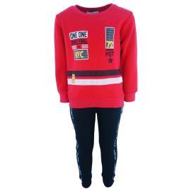 Παιδική Φόρμα-Σετ Hashtag 203825 Κόκκινο Αγόρι