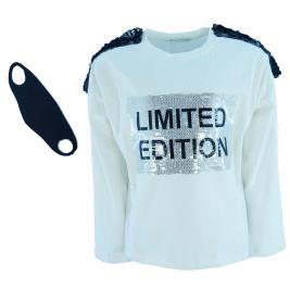 Παιδική Μπλούζα Εβίτα 203170 Εκρού Κορίτσι