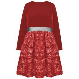 Παιδικό Φόρεμα Energiers 16-120211-7 Κερασί Κορίτσι