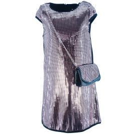 Παιδικό Φόρεμα Εβίτα 203073 Μπρονζέ Μαύρο Κορίτσι