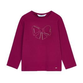 Παιδική Μπλούζα Mayoral 10-00178-078 Βυσσινί Κορίτσι