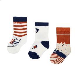 Βρεφικές Κάλτσες Σετ Mayoral 10-09305-013 Γκρι Αγόρι