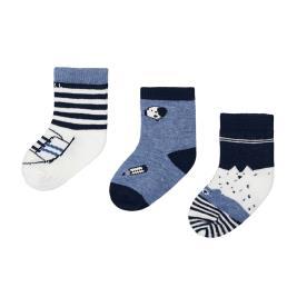 Βρεφικές Κάλτσες Σετ Mayoral 10-09305-012 Μαρέν Αγόρι