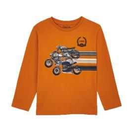 Παιδική Μπλούζα Mayoral 10-04038-081 Πορτοκαλί Αγόρι