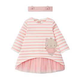 Βρεφικό Φόρεμα Mayoral 10-02853-996 Ροζ Κορίτσι