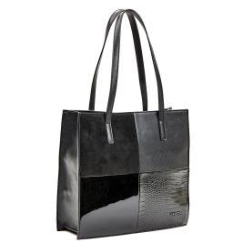 Γυναικεία Τσάντα Verde 16-0005731 Μαύρο