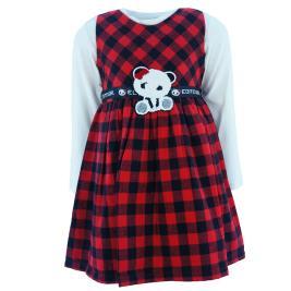 Παιδικό Φόρεμα Εβίτα 215284 Κόκκινο Κορίτσι