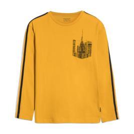 Παιδική Μπλούζα Mayoral 10-07045-084 Μουσταρδί Αγόρι