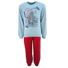 Παιδική Πυτζάμα Dreams 202858 Γκρι Κόκκινο Αγόρι