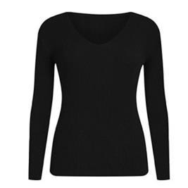 Γυναικεία Μπλούζα Celestino WH9856.9708 Μαύρο