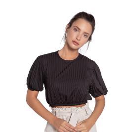Γυναικεία Μπλούζα Anel 48674 Μαύρο