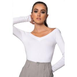 Γυναικεία Μπλούζα Noobass 01-0670 Λευκό