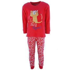 Παιδική Πυτζάμα Energiers 35-119302-9 Κόκκινο Κορίτσι