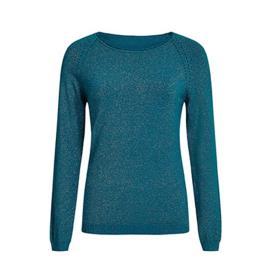 Γυναικεία Μπλούζα Celestino WH7975.9666 Πετρόλ