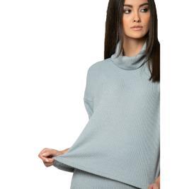 Γυναικεία Μπλούζα Noobass 01-0687 Γαλάζιο