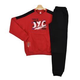 Παιδική Φόρμα-Σετ Joyce 202422 Κόκκινο Αγόρι