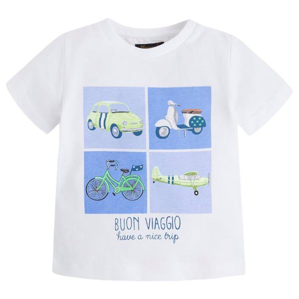 Βρεφική Μπλούζα Mayoral 1014 Λευκό Αγόρι. Παιδικά Ρούχα - Βρεφική ... ad40ab0f0c3