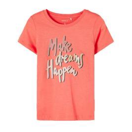 Παιδική Μπλούζα Name It 13187119 Κοραλί Κορίτσι