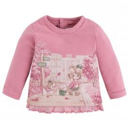 Βρεφική Μπλούζα Mayoral 2414 Ροζ Κορίτσι