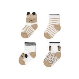 Βρεφικές Κάλτσες Σετ Mayoral 21-09360-073 Μπεζ Αγόρι