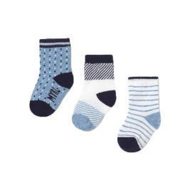 Βρεφικές Κάλτσες Σετ Mayoral 21-09362-053 Γαλάζιο Αγόρι