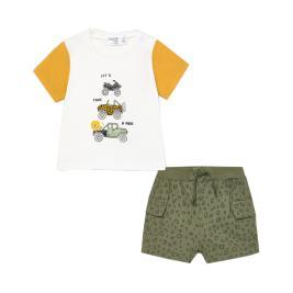Βρεφικό Σετ-Σύνολο Mayoral 21-01218-063 Κίτρινο Αγόρι