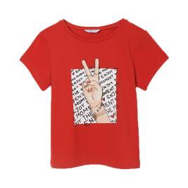 Παιδική Μπλούζα Mayoral 21-06020-037 Κόκκινο Κορίτσι